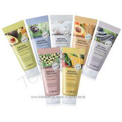 Очищающая пенка с экстрактами лекарственных растений, ягод, фруктов и овоще
