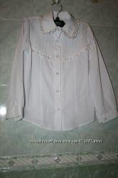 Школьная блузочка 134рост