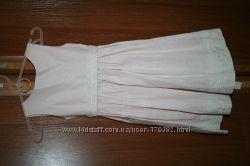 Льняное платьице на 3-4года