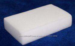Меламиновые губки - белые и серые