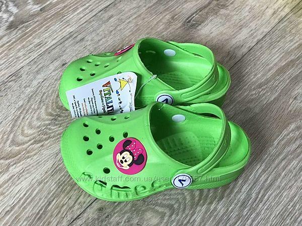 Шлепки вьетнамки кроксы в наличии на мальчиков и девочек Летняя обувь