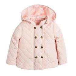 куртка детская стеганка на девочку в наличии Cool club на 1-3года