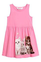 Детские летние платья и сарафаны на девочку в наличии HM