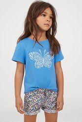 Яркие и летние футболки на девочек  в наличии из Америки