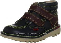 Кожаные ботиночки Kickers для мальчиков