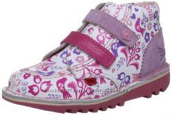Кожаные ботиночки Kickers для девочек 25 размер