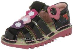 Красивые босоножки Kickers для девочек 22 размеры