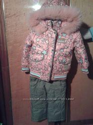 Зимний комбинезон Кико на девочкку на пуху.