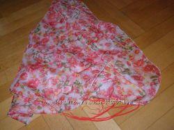 Очень красивый шарф с цветочным принтом