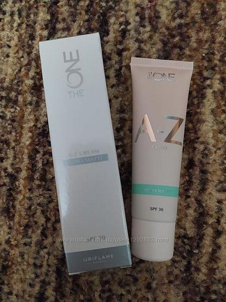 Мультифункциональный матирующий крем-тон для лица The ONE A-Z SPF 30