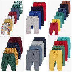 Тонкие спортивные штаны George 9-12-18-24 мес 80-86 см