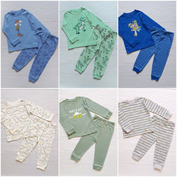 Пижама George 12-1,5-2-3 года 80-86-92-98 см комплект нижнее белье