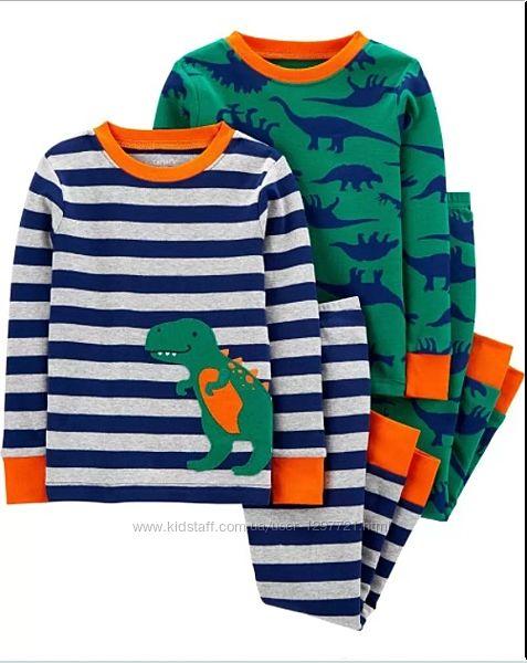 Carters Комплект пижам хлопок для мальчика 4Т