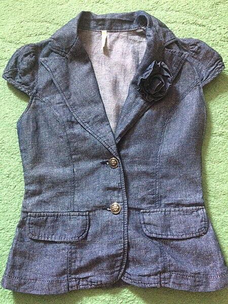 Лёгкий пиджак блуза Gloria Jeans p. S