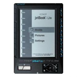 ECTACO JetBook-Lite e-Book Reader TFT 5, питание от 4 элементов АА