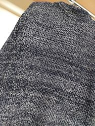 Теплый мужской свитер меланж