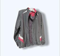 Женская куртка ветровка жилетка 2 в 1