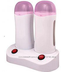 воскоплав кассетный двойной с базой розовый