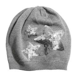 Тоненькая шапочка с пайетками H&M