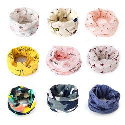 Детские красивые шарфики - хомуты