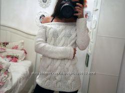 Знаменитый пуловер Ксении Бородиной. Осень в косах.