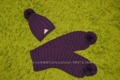 Модный набор фиолетового цвета