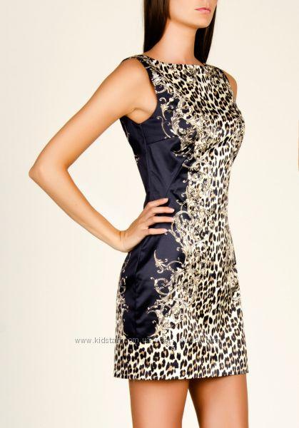 Леопардовое платье love republic