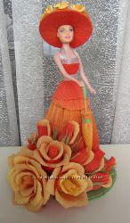 Букет из конфет Кукла