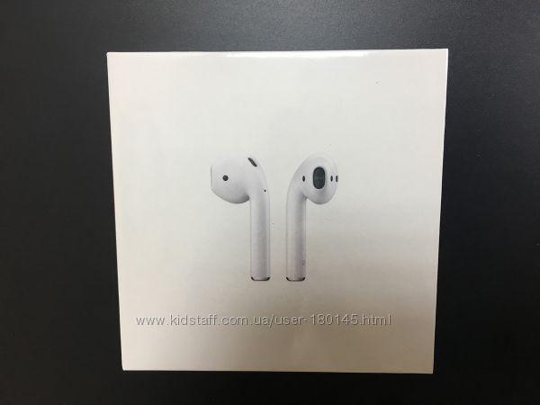 Apple AirPods 2. Новые беспроводные наушники MV7N2