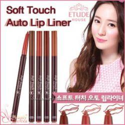 Автоматический водостойкий карандаш для губ Etude House Soft Touch