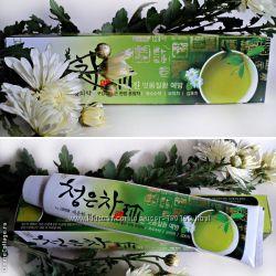 Зубная паста для укрепления десен с экстрактами трав и восточного чая