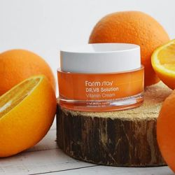 Увлажняющий крем с витамином С FarmStay Dr. V8 Solution Vitamin Cream