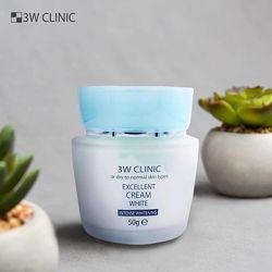 Отбеливающий крем 3w Clinic Excellent Cream White