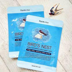 Омолаживающая тканевая маска с экстрактом ласточкиного гнезда FarmStay