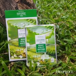 Витализирующая синергетическая маска с зеленым чаем и алое Deoproce
