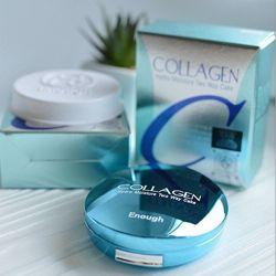 Увлажняющая коллагеновая пудра Enough Collagen Hydro Moisture Two Way Cake