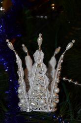белые короны для праздника, фото сессий
