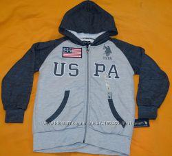 Толстовка на меху Polo Assn USA