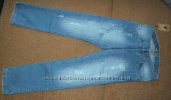 Модные джинсы рванки и потертости Ian Ashes Италия 13-14 и 15-16 лет