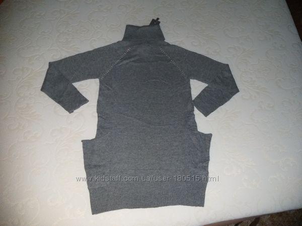 Платье туника Artigli размер 8А шерстяное тоненькое