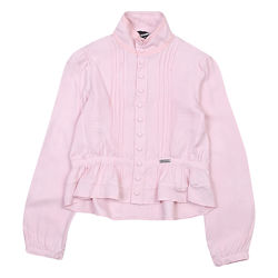 Шикарная вискозная итальянская блуза DSQUARED2 на кнопках размер 8