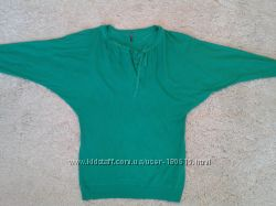 Свитерок NAF NAF цвета зеленой травки