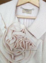 Дизайнерское кашемировое пальто 46-48 размера