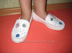 Туфли-мокасины ТМ Шалунишка на девочку