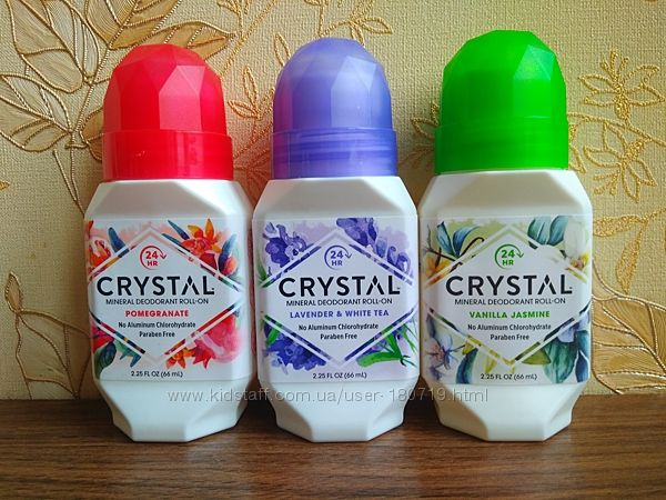 Роликовый дезодорант Crystal Body Deodorant Roll-On Deodorant