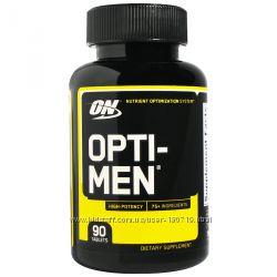 Optimum Nutrition, Opti-Men, нутриентная система питательных добавок, 90 шт