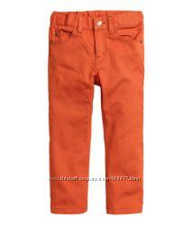 Новые котоновые брюки  H&M.