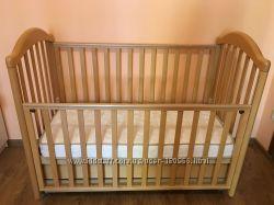 Детская кроватка Baby Italia, 120х60, Одесса, натур. дерево