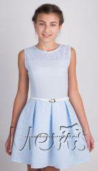 платья подростку лен