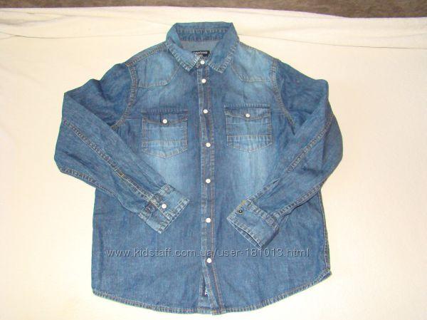 Terranova Джинсовая рубашка 128-134 см на 8-9 лет